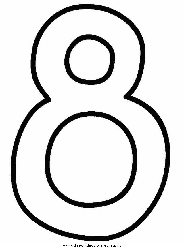 Disegno Numeri 16 Categoria Alfabeto Da Colorare