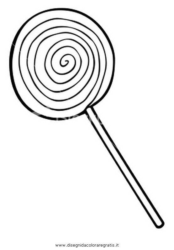 Lollipop Coloring Pages Sketch Coloring Page