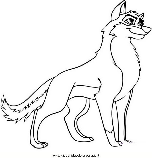Disegno Balto Animali Da Colorare