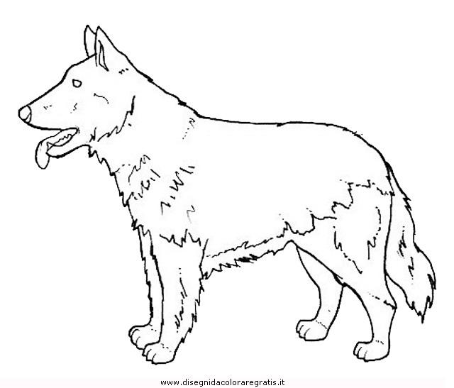 Disegno cane personaggio cartone animato da colorare
