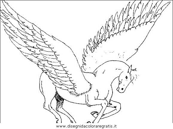 Disegno cavallo 26 animali da colorare for Immagini cavalli da disegnare