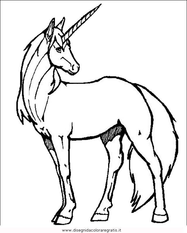 Disegno Cavallo_32 Animali Da Colorare