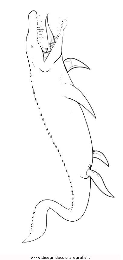 Disegno jurassic world 3 animali da colorare - Immagini di dinosauro da colorare in ...