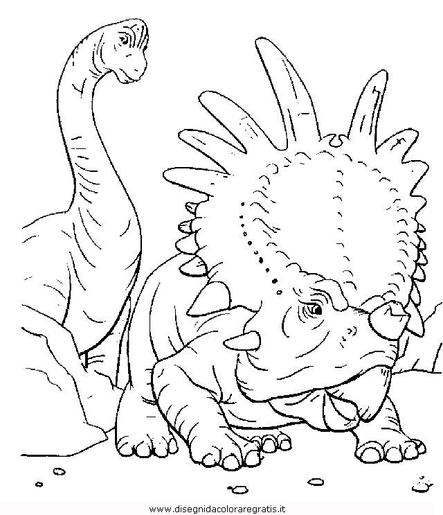 Disegno Jurassicworld5 Animali Da Colorare