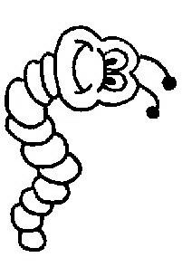Disegno insetto 53 animali da colorare for Lepre disegno da colorare