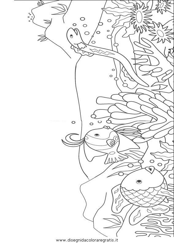 Disegno Pescepesci026 Animali Da Colorare
