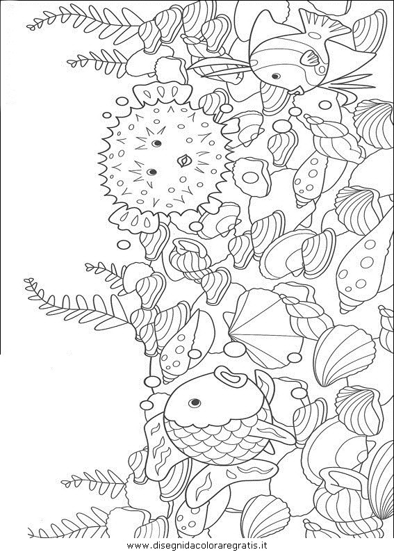 Disegno Pescepesci028 Animali Da Colorare