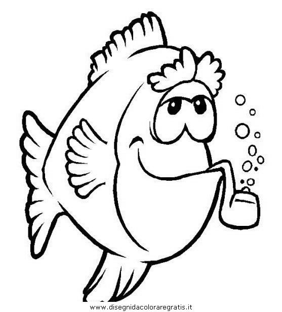 Disegno pesce pesci 061 animali da colorare for Disegni di pesci da colorare e stampare gratis