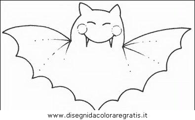 Disegni Da Colorare Pipistrelli.Disegno Pipistrello 15 Animali Da Colorare