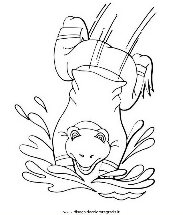 Disegno Rana Rane 35 Animali Da Colorare
