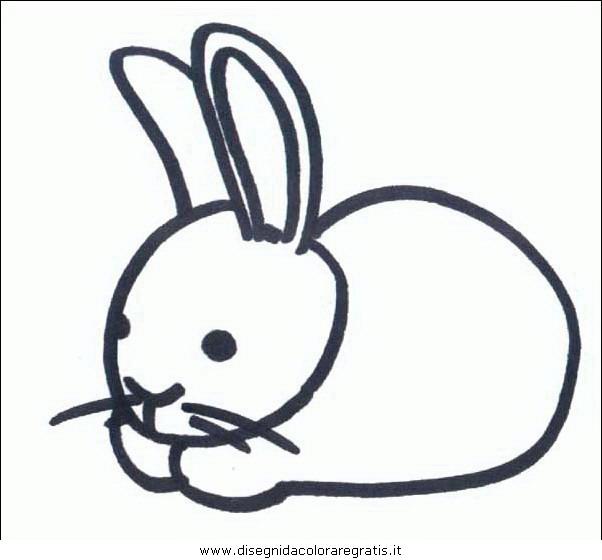 Disegno roditori 97 animali da colorare for Lepre immagini da stampare