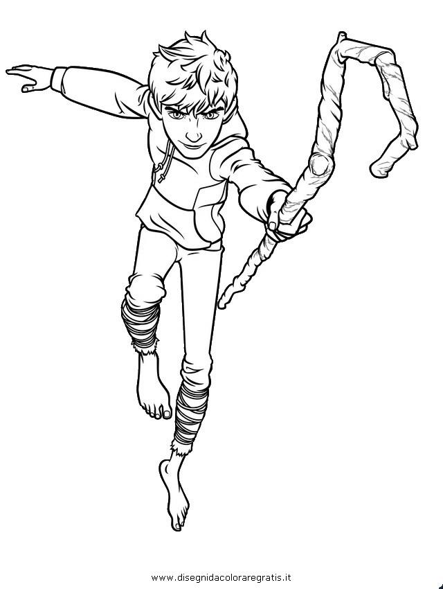 Disegno leggende jack personaggio cartone animato da