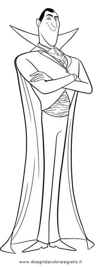 Disegno hotel transylvania personaggio cartone animato