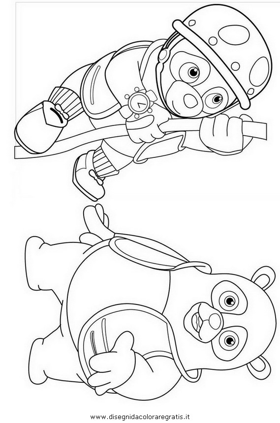 Pin agente oso colouring pages on pinterest for Special agent oso coloring pages