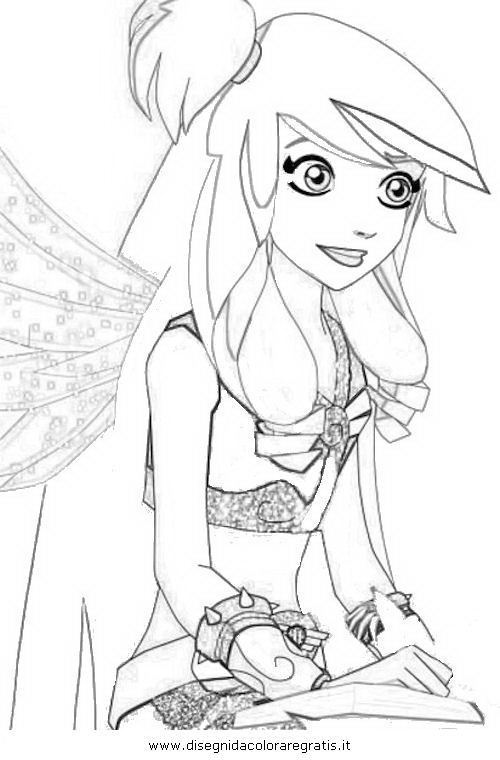 Angel Friends Raf And Sulfus Coloring Pages Sketch Page