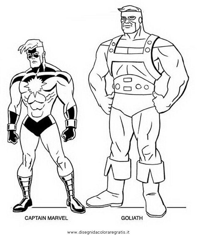 Disegno avengers 05 personaggio cartone animato da colorare for Colorare avengers