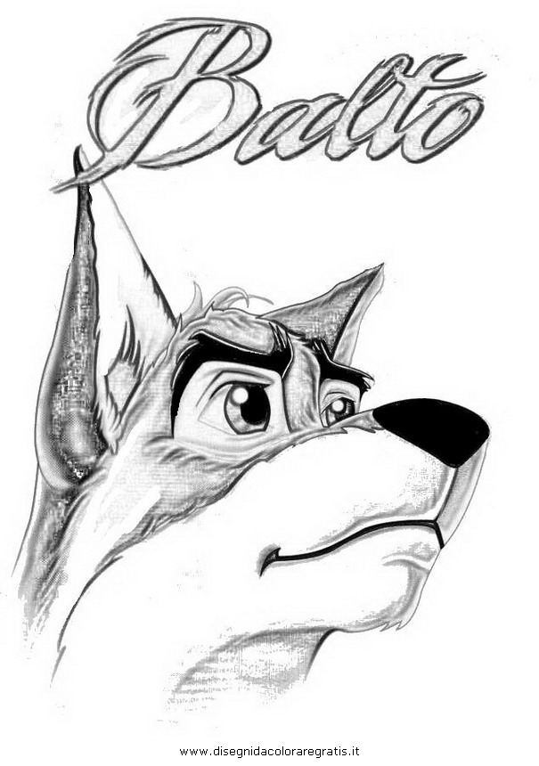 Balto Coloring Pages - More information