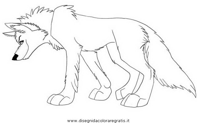 Balto coloring pages dogs