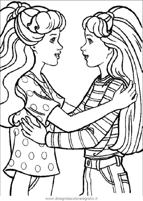 Disegno barbie 034 personaggio cartone animato da colorare for Disegni barbie da colorare gratis