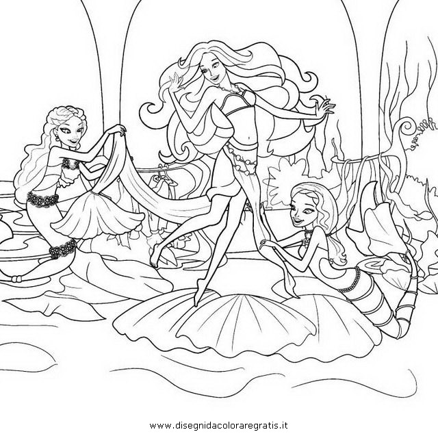 Coloring pages barbie merliah birthday ~ Pin Merliah Colouring Pages on Pinterest