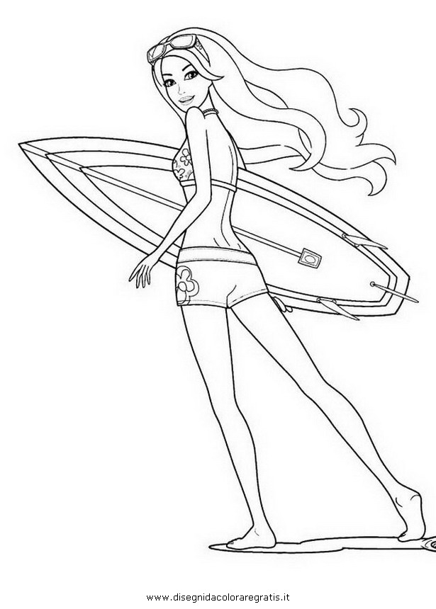 coloring pages barbie merliah - photo#13