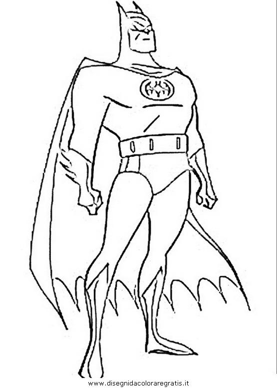 disegni da colorare batman gratis