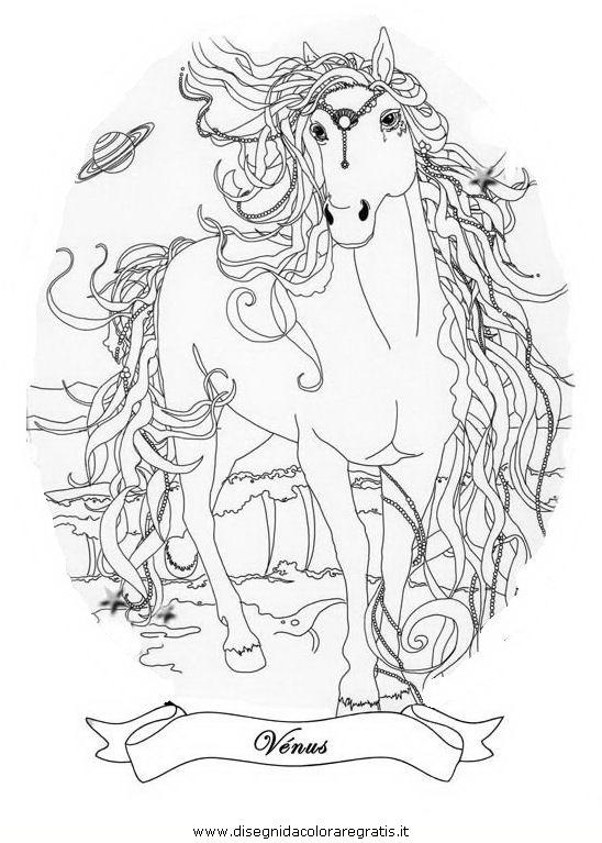 Disegno bella sara personaggio cartone animato da colorare