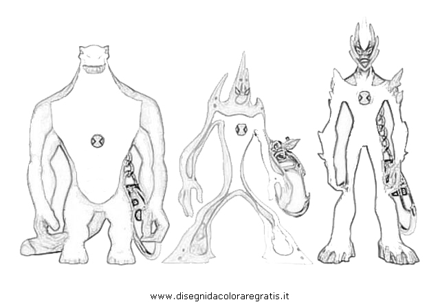 Ben 10 Omniverse Watch Coloring Coloring Pages