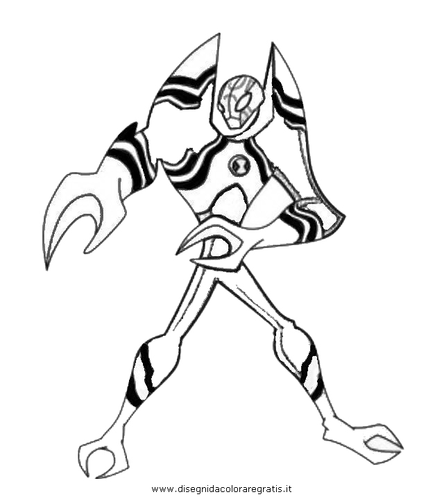Ben 10 Omniverse Feedback Coloring Pages Coloring Pages Ben 10 Omniverse Coloring Pages