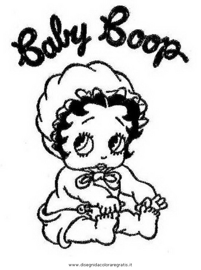Galerry Baby Boop Coloring Pages
