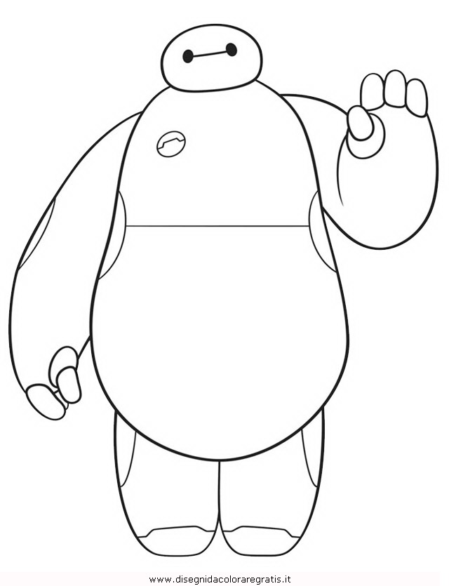ba max coloring pages - photo #4