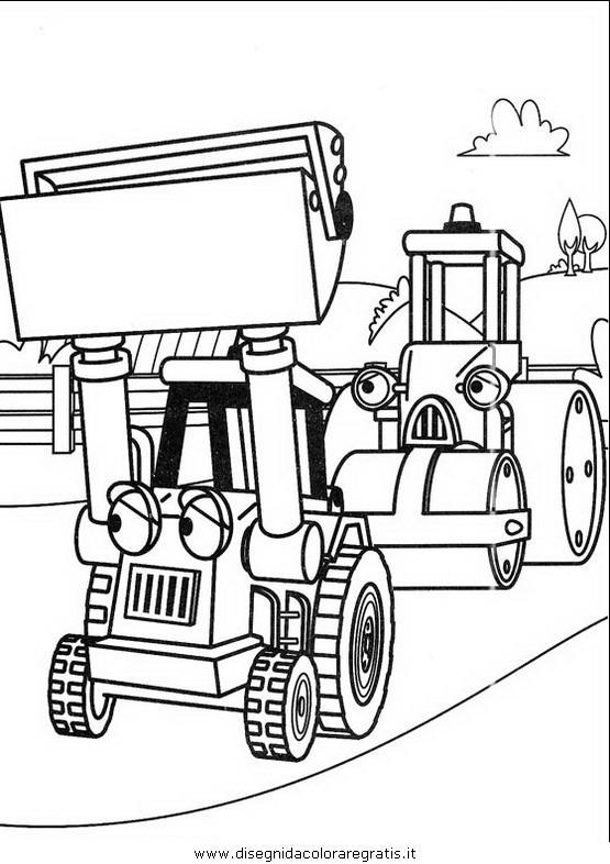 Disegno bob aggiustatutto personaggio cartone animato