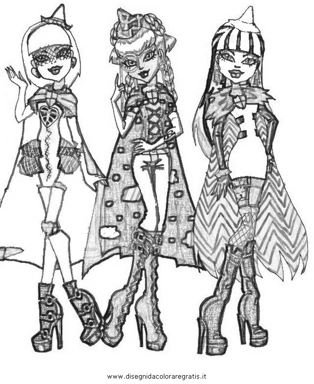 bratzillaz coloring pages online - photo#12