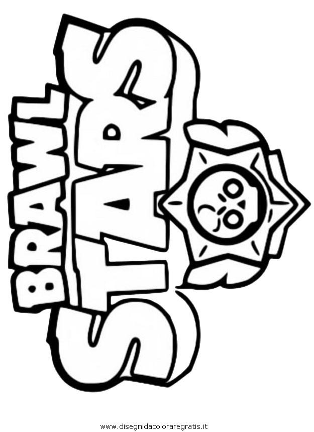 Disegno Brawlstars26 Personaggio Cartone Animato Da Colorare