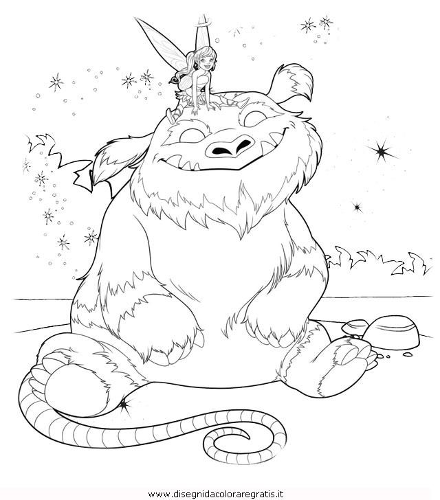 Disegno campanellino trilly gruff 1 personaggio cartone for Cartone animato trilli