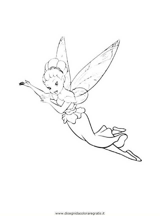 Disegno campanellino trilli trilly 13 personaggio cartone for Cartone animato trilli