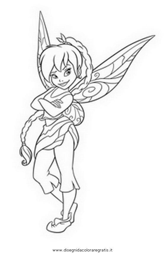 Disegno trilli daina personaggio cartone animato da colorare for Cartone animato trilli