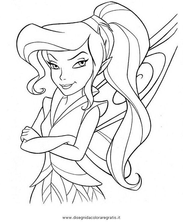 Disegno trilly vidia 2 personaggio cartone animato da for Cartone animato trilli