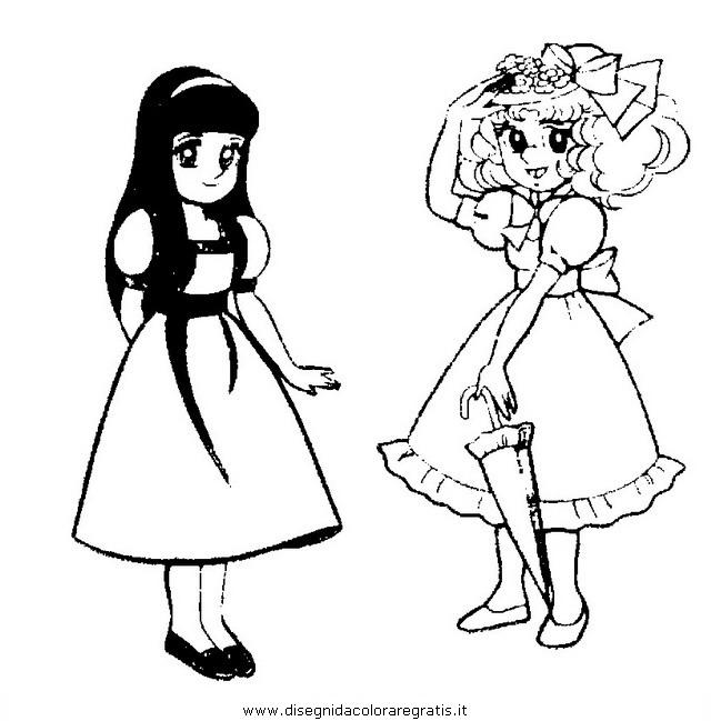 Disegno candy candy 23 personaggio cartone animato da - Come disegnare un cartone animato di gufo ...