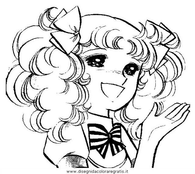 Disegno candy personaggio cartone animato da