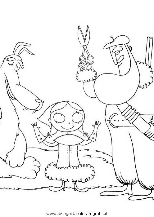 Disegno Cappuccettorosso18 Personaggio Cartone Animato Da Colorare