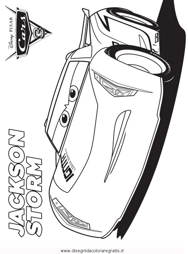 Disegno A Cars3 4 Personaggio Cartone Animato Da Colorare