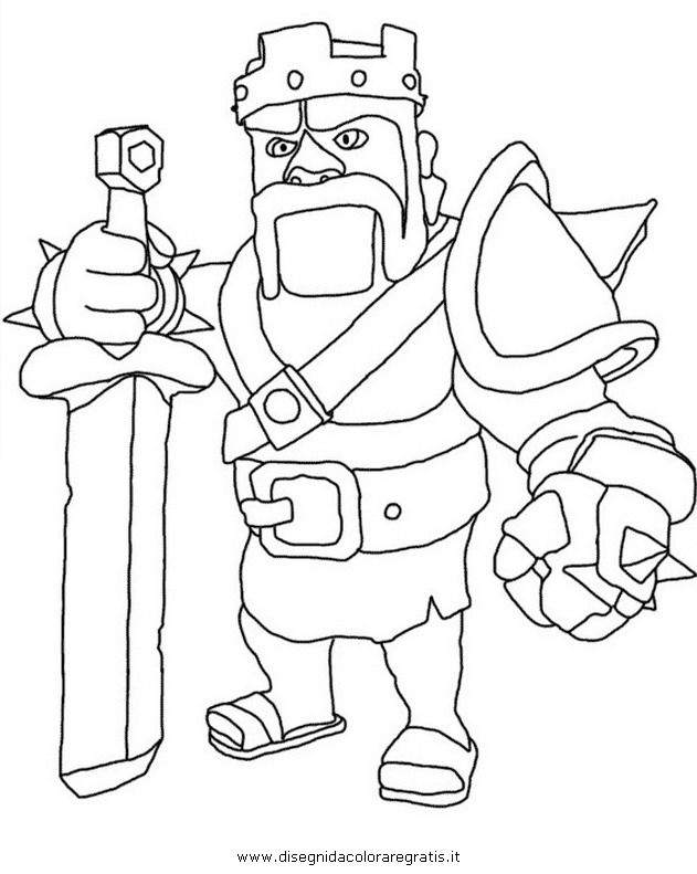 Clash Of Clans Coloring Pages Pdf : Free coloring pages of clash clans village