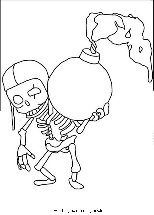 Disegno Clashofclans Wallbreaker 001 Personaggio Cartone Animato Da