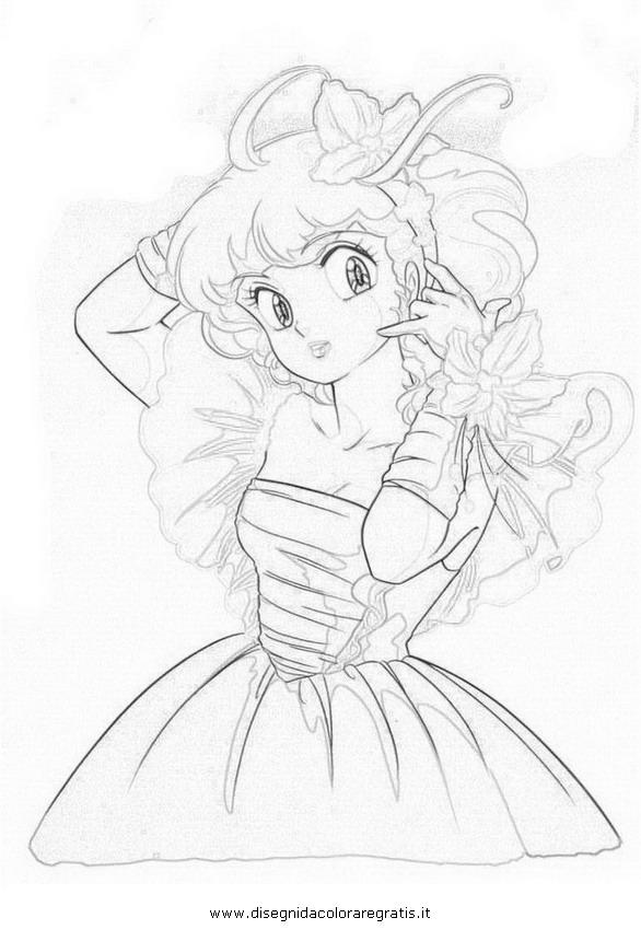 Disegno creamy personaggio cartone animato da colorare
