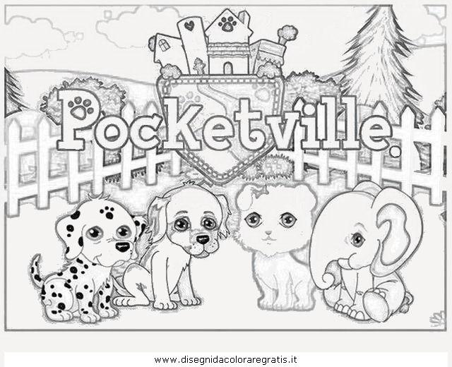 Disegno Cucciolicercaamicipocketville Personaggio Cartone