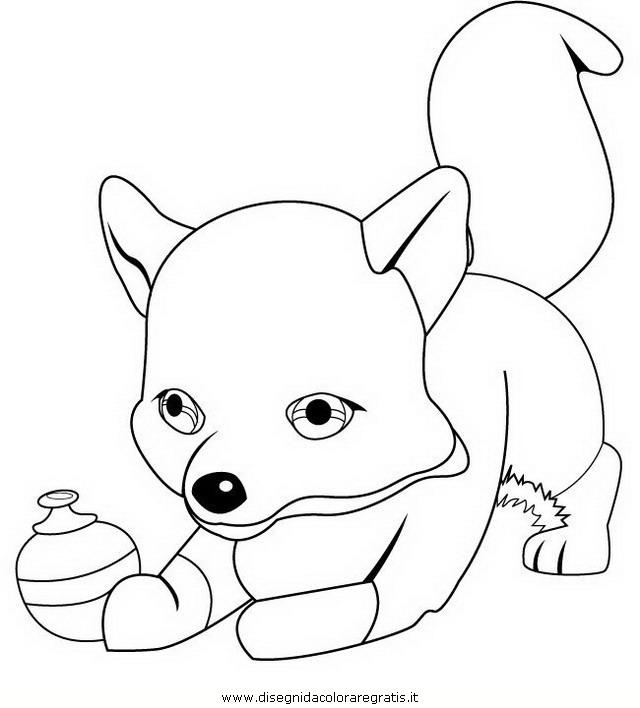 Disegno furbetta la volpe personaggio cartone animato da