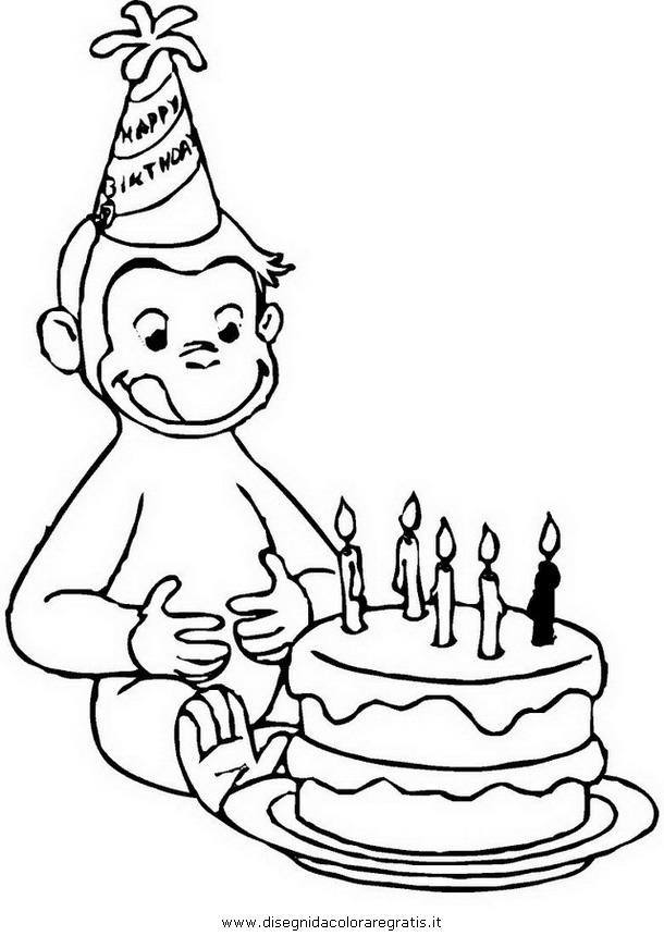 Disegno Curiosogeorge09 Personaggio Cartone Animato Da Colorare
