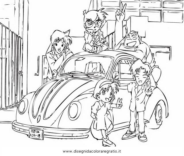 Cartoni Animati Detective Conan Detective Conan E Gli Eroi Dei
