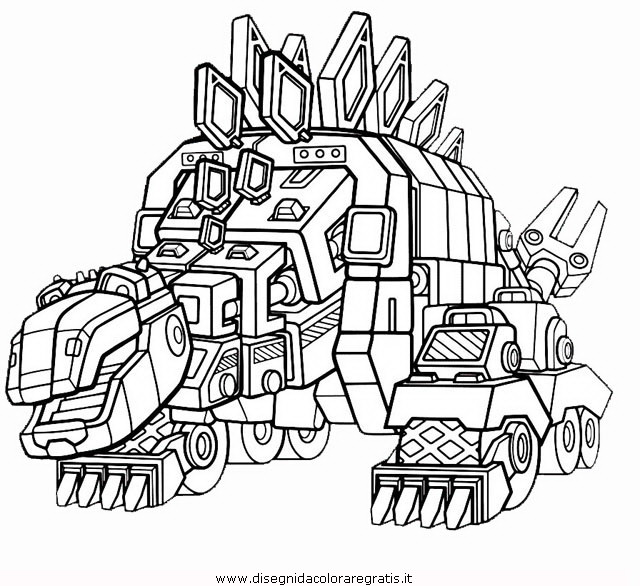 Disegno dinotrux 4 personaggio cartone animato da colorare for Dinotrux coloring pages